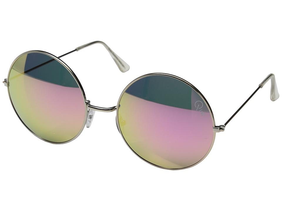 QUAY AUSTRALIA - Dynasty (Silver/Pink Mirror) Fashion Sunglasses
