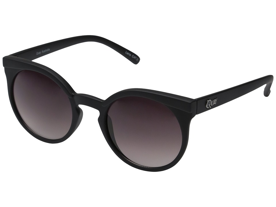 QUAY AUSTRALIA - Kosha (Black/Smoke Lens) Fashion Sunglasses
