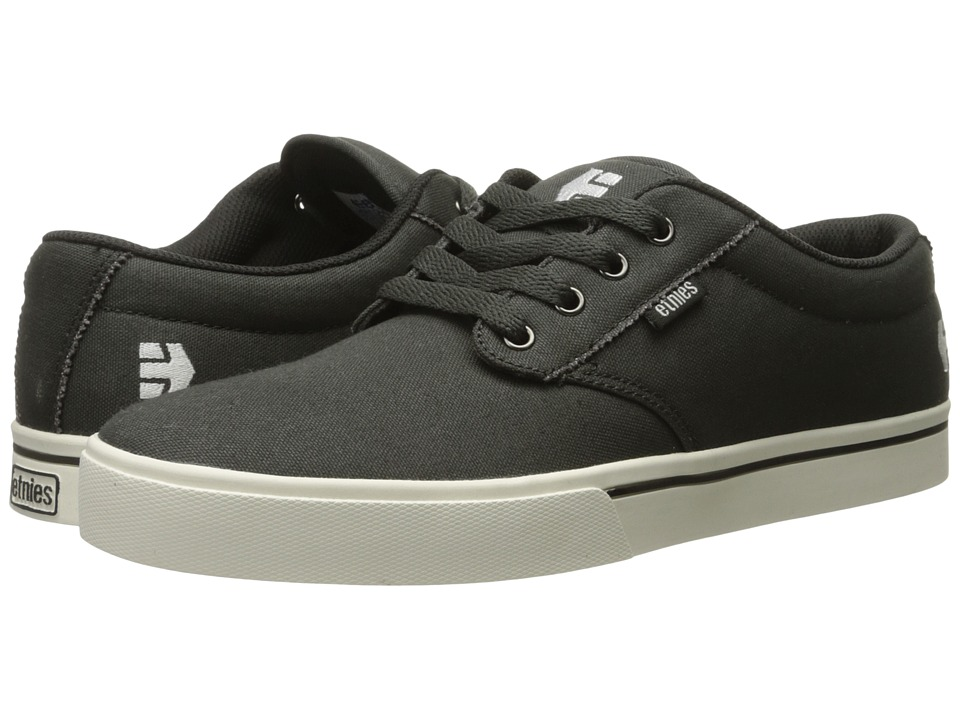 etnies - Jameson 2 Eco (Dark Grey/White) Men's Skate Shoes