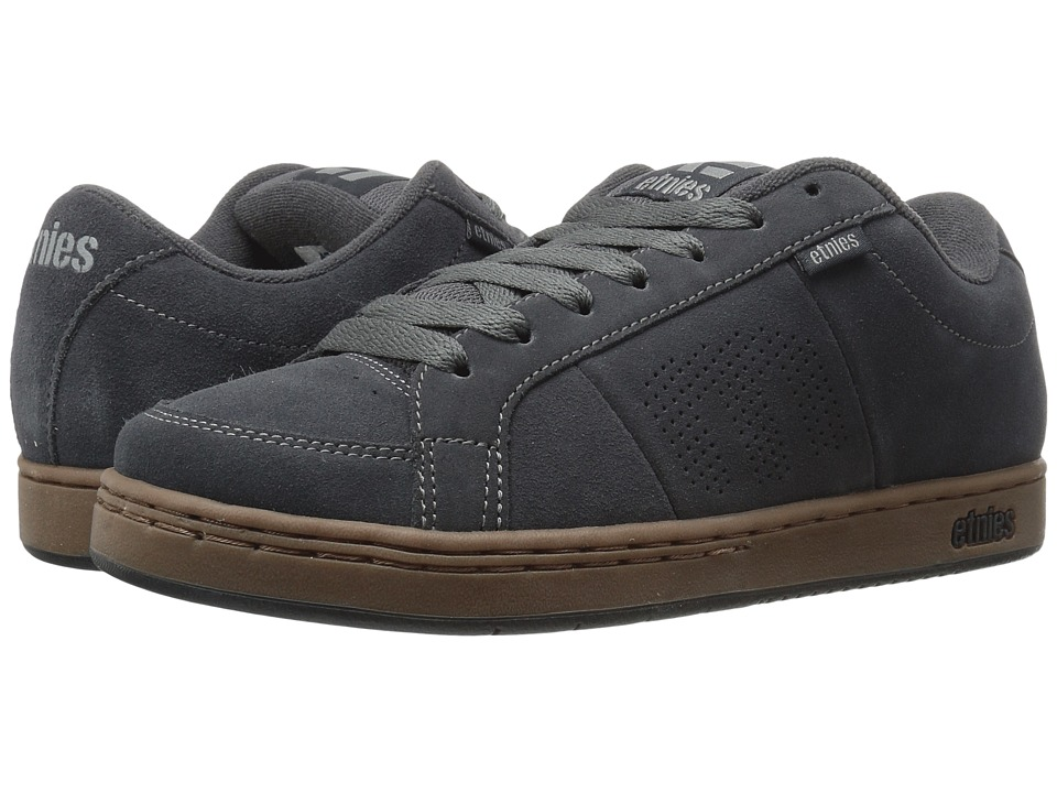 etnies - Kingpin (Dark Grey/Black/Gum) Men's Skate Shoes