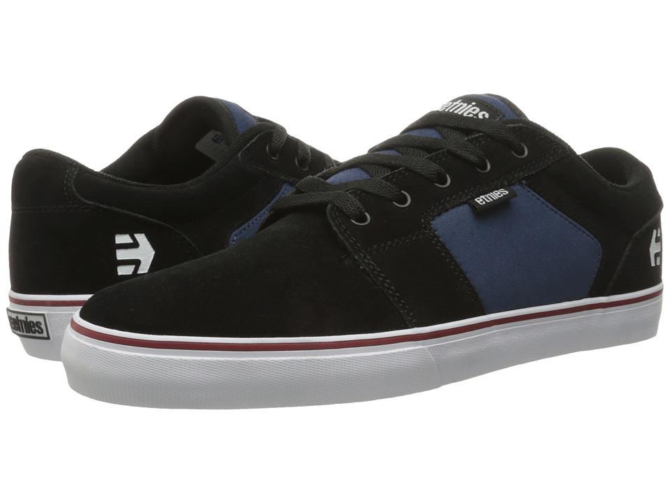 etnies Barge LS BlackBlue Mens Skate Shoes