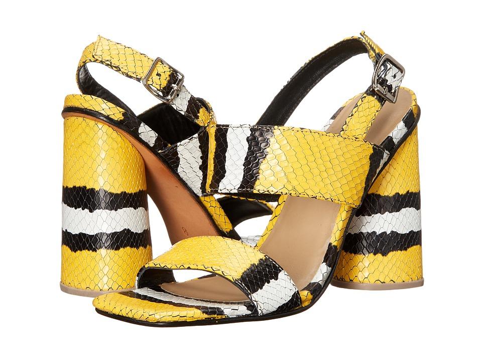 Rachel Comey - Madera (Canary Croc) High Heels