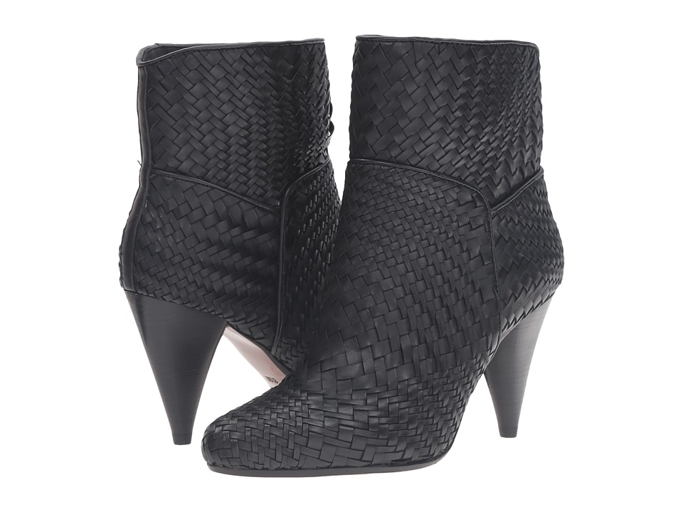 10 Crosby Derek Lam Dannie (Black Woven Nappa) Women
