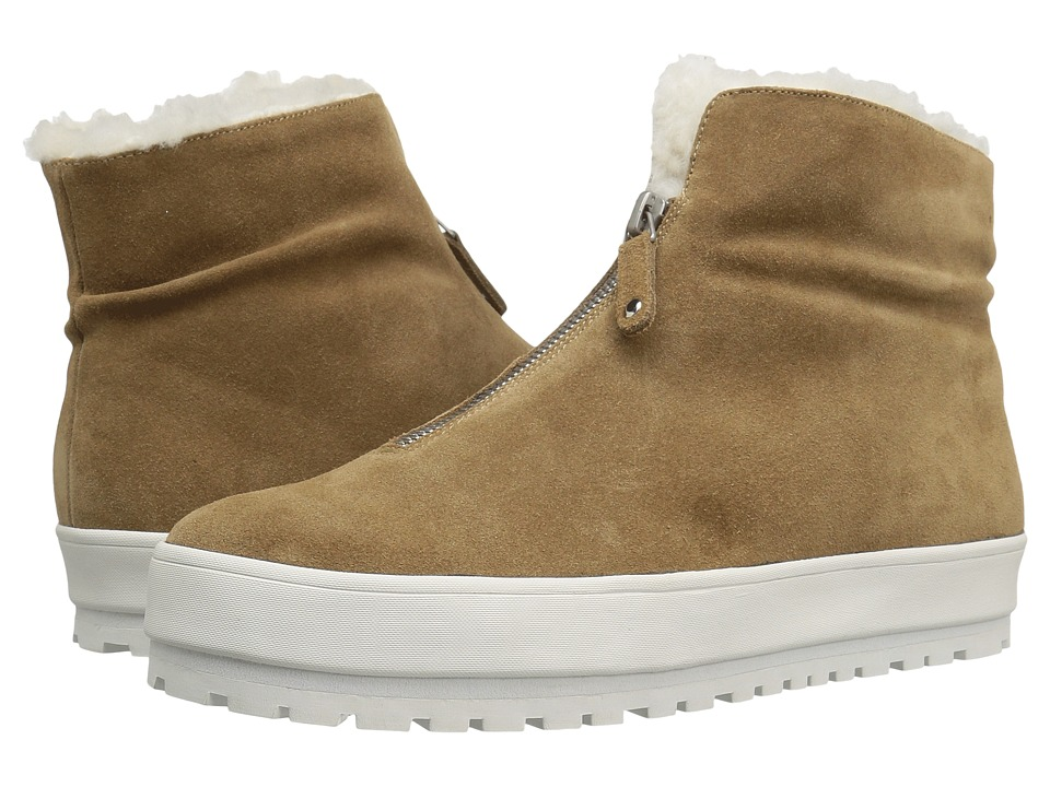 10 Crosby Derek Lam - Lara (Tan Sport Suede/Shearling) Women's Shoes