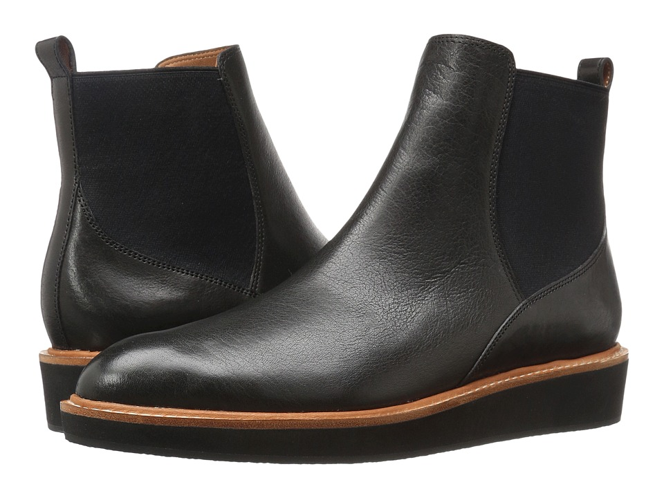 10 Crosby Derek Lam - Danielle (Black Calf/Elastic) Women's Shoes