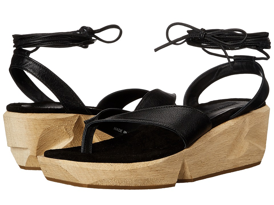Rachel Comey - Getz (Black) Women's Wedge Shoes