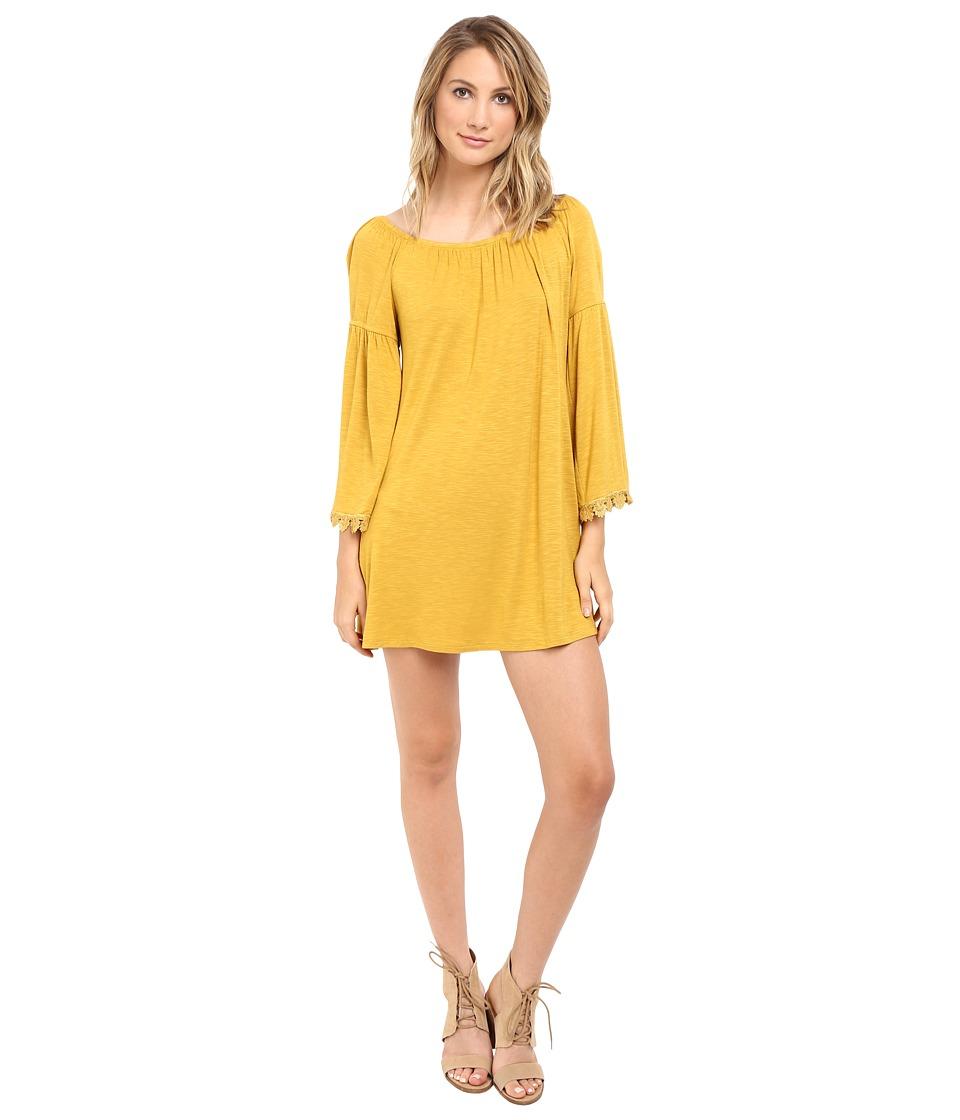 Brigitte Bailey - Devotion Dress (Honey) Women's Dress