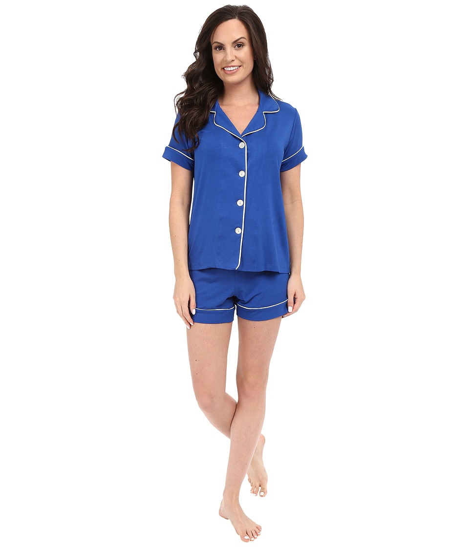 BedHead - Shorty PJ Set (Royal Blue) Women's Pajama Sets