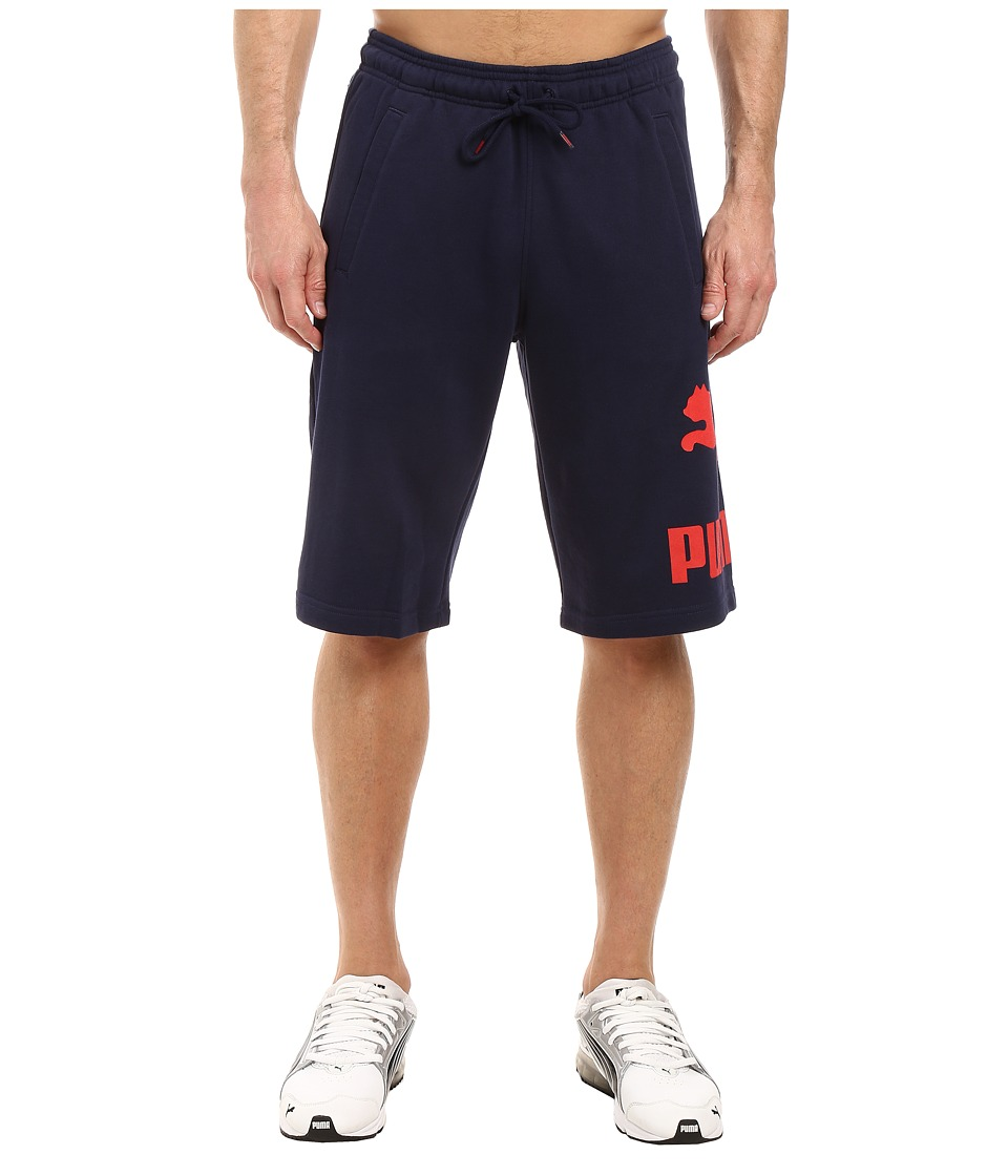 PUMA - Archive Logo Bermuda Shorts (Peacoat) Men's Shorts