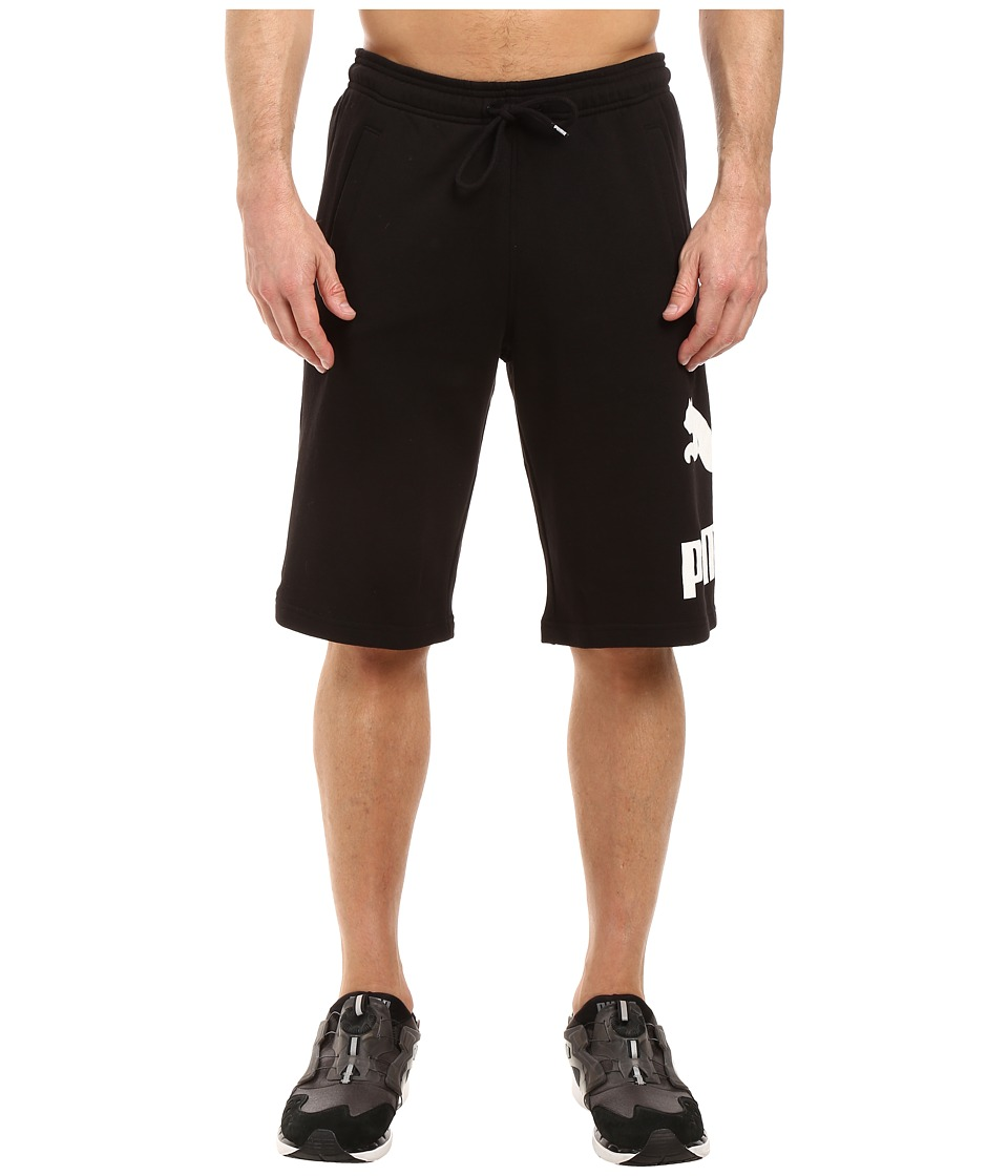 PUMA - Archive Logo Bermuda Shorts (PUMA Black) Men's Shorts