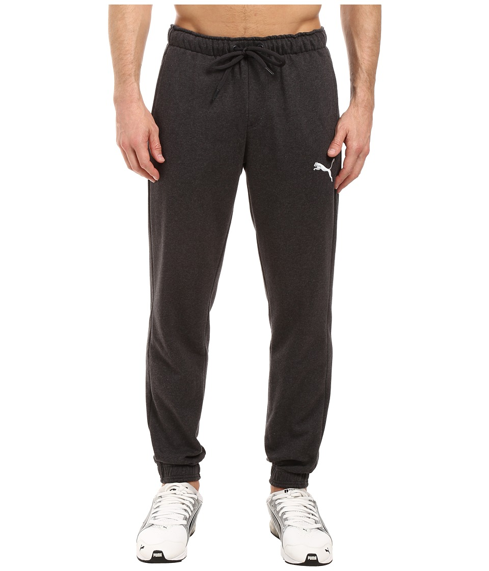 PUMA - P48 Core Fleece Pants CL (Dark Gray Heather) Men's Casual Pants