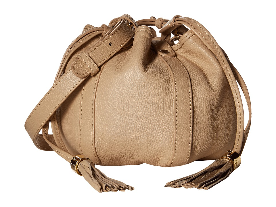 See by Chloe - Grained Cowhide Crossbody (Sand Shell) Cross Body Handbags
