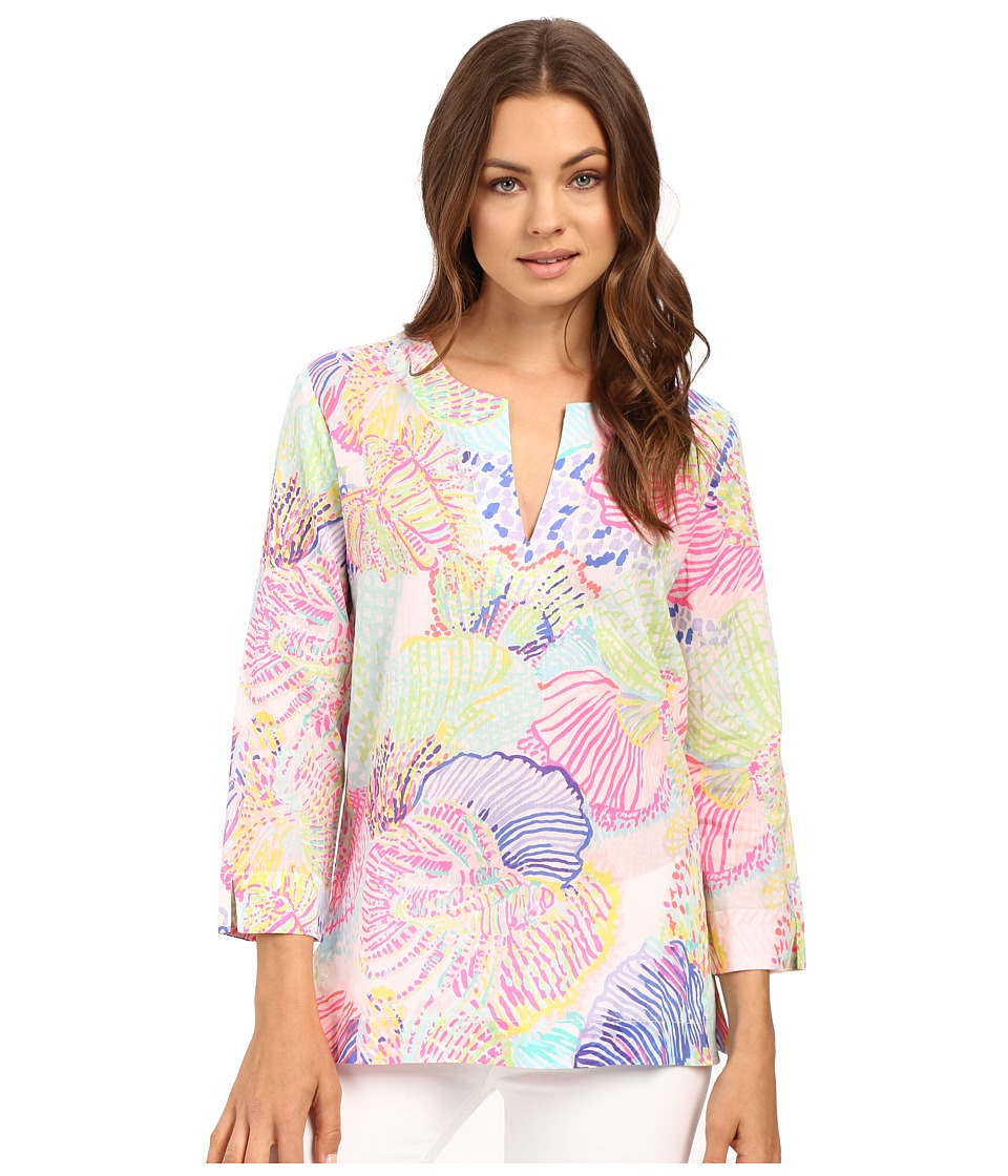 Lilly Pulitzer - Amelia Island Tunic (Multi Roar of the Sea) Women's Blouse