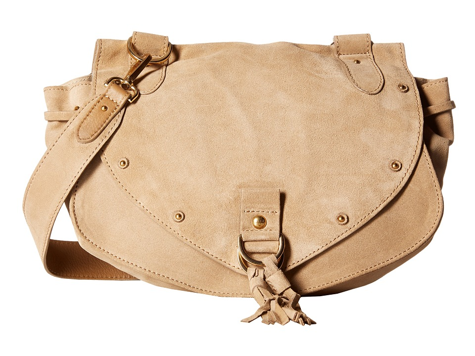 See by Chloe - Medium Collins Crossbody (Sand Shell) Cross Body Handbags