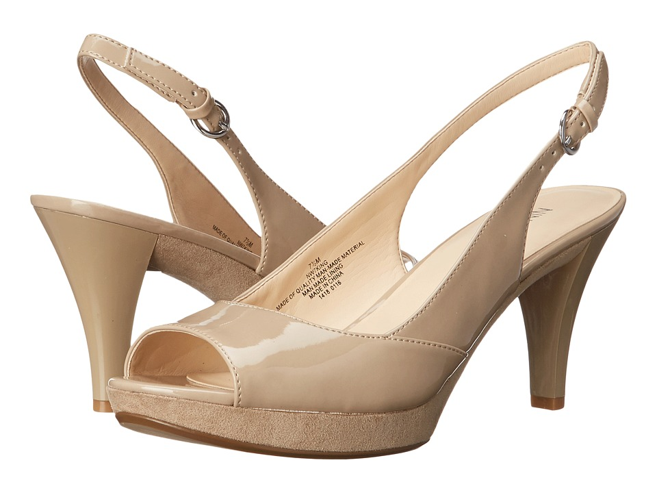 Nine West - King (Taupe Synthetic) Women's Shoes