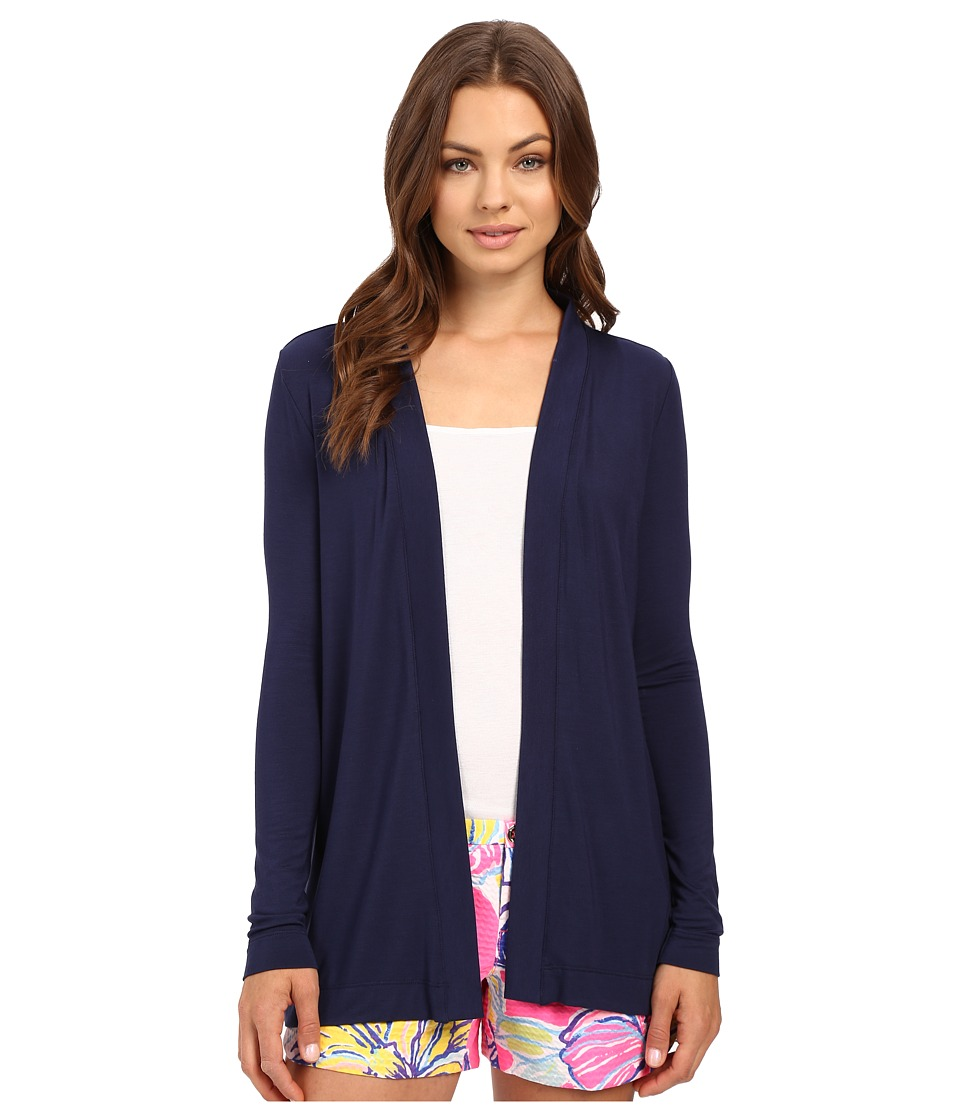 Lilly Pulitzer - Blithe Cardigan (True Navy) Women's Sweater
