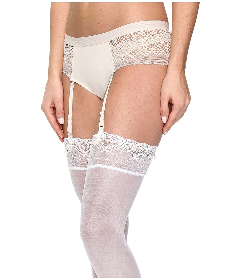 DKNY Intimates - Sheer Lace Garter (Vanity) Women's Underwear