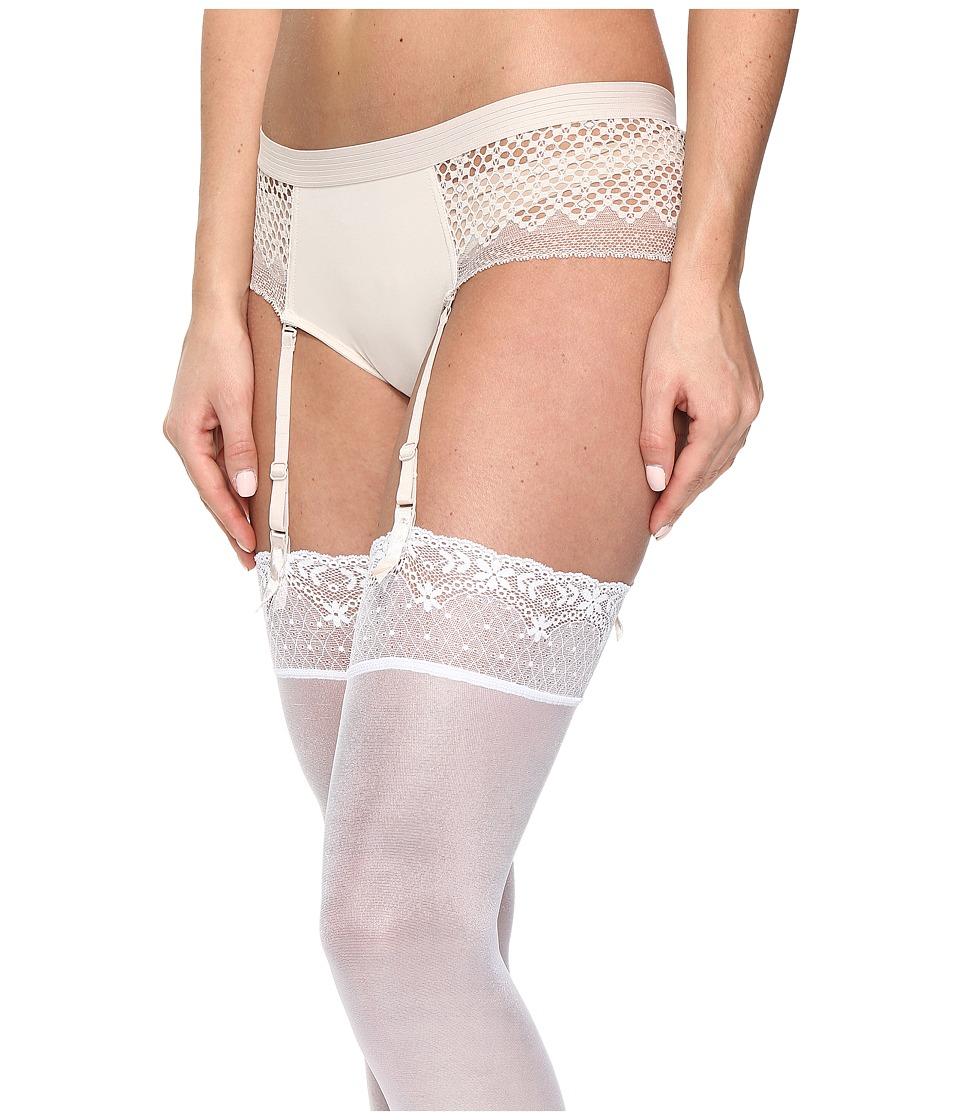 DKNY Intimates - Sheer Lace Garter (Vanity) Women's Underwear