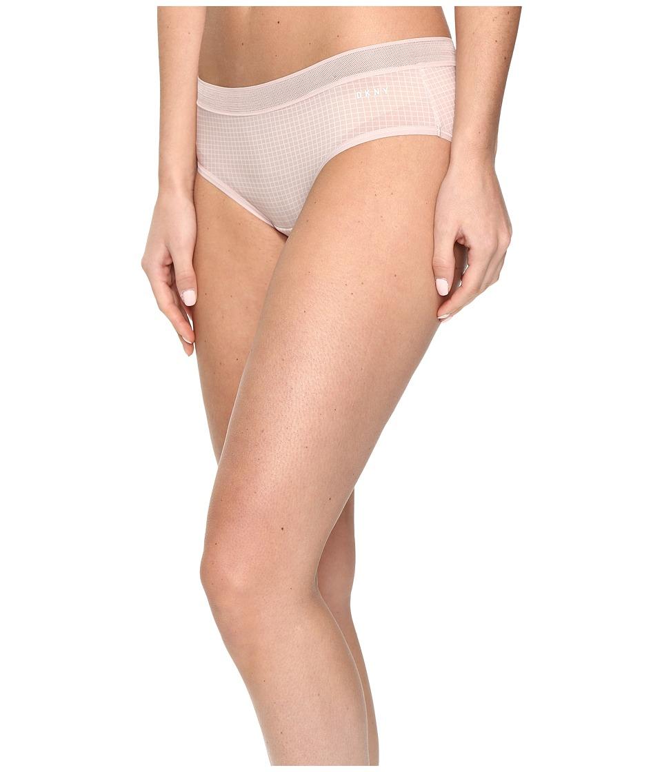 DKNY Intimates - Micro Bikini (Rose Mist Graph Print) Women's Underwear