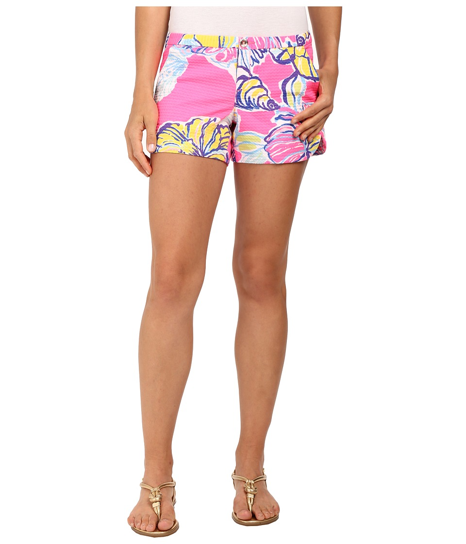 Lilly Pulitzer - Adie Shorts (Kir Royal Pink Swept by the Tides) Women's Shorts