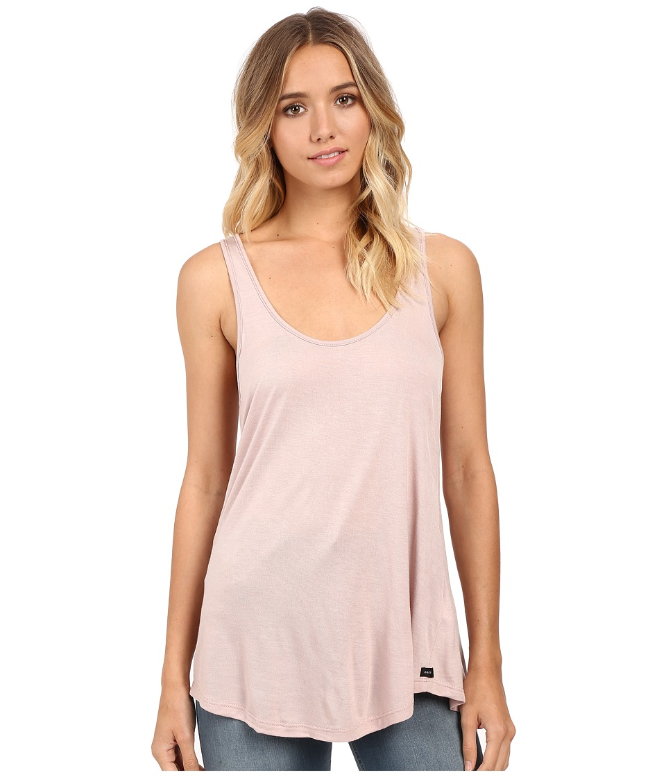 Obey - Off Duty Tank Top (Rose Dust) Women's Sleeveless