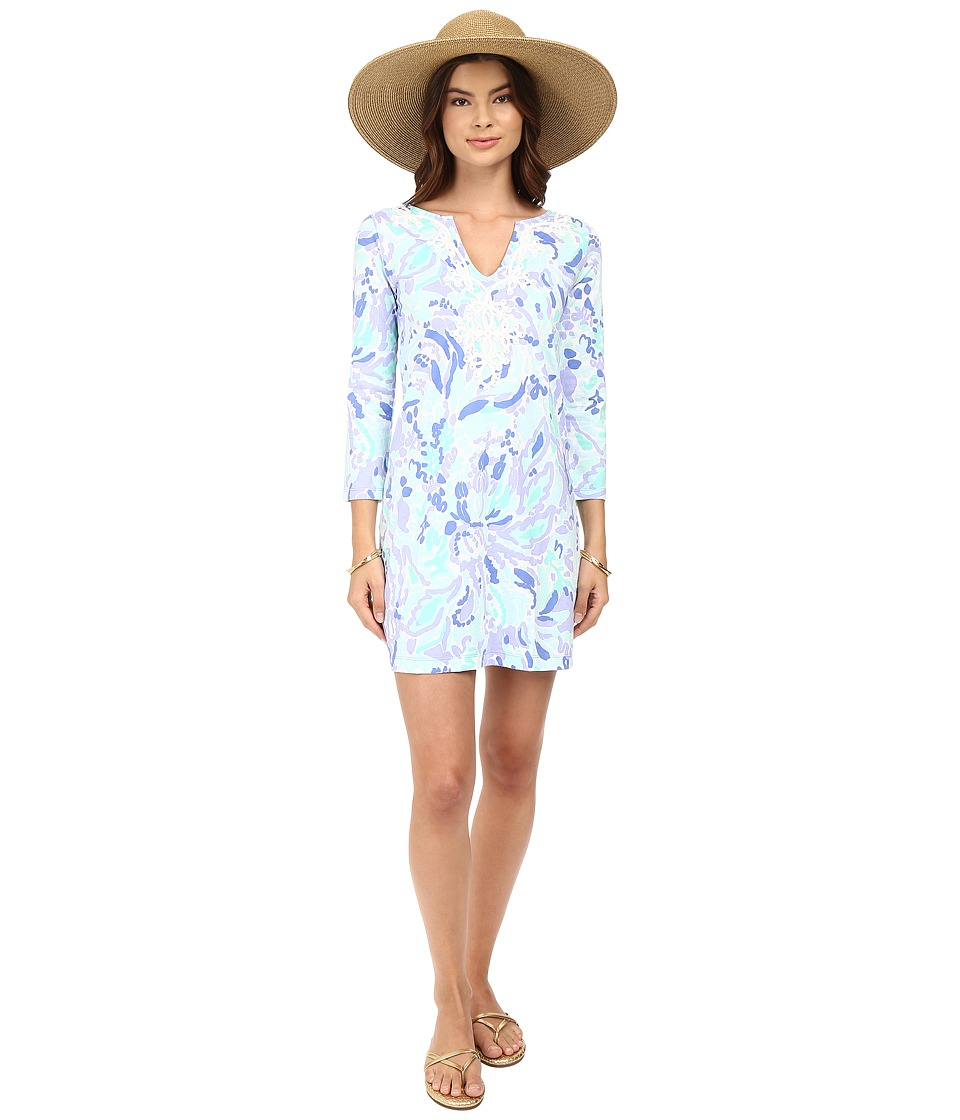 Lilly Pulitzer - Marina Dress (Lillys Lilac Nice Ink) Women's Dress