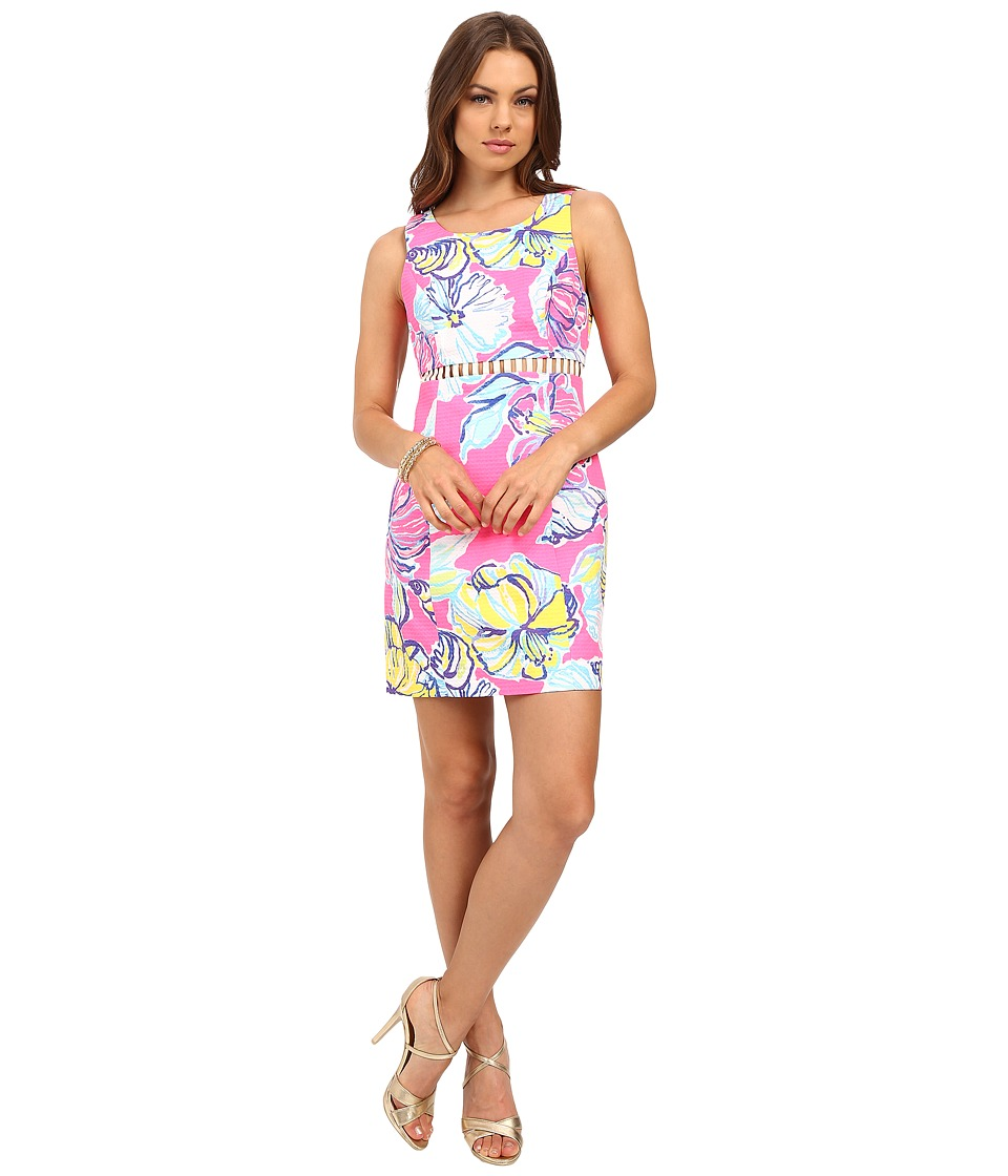 Lilly Pulitzer - Iggy Shift Dress (Kir Royal Pink Swept by the Tides) Women's Dress