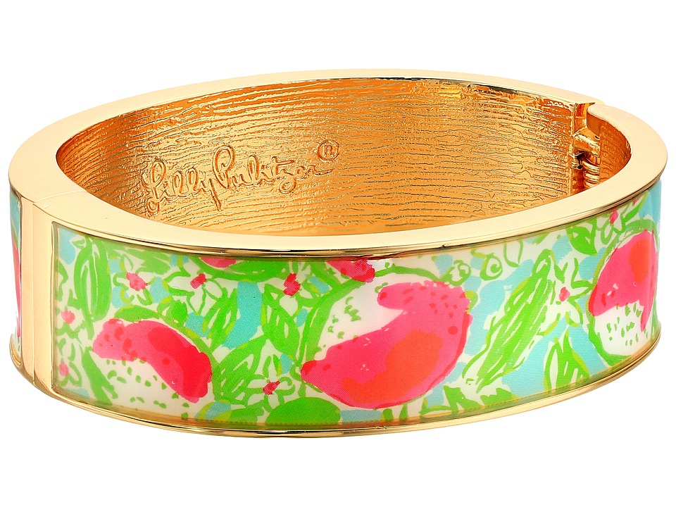 Lilly Pulitzer - Boca Bangle (Pool Blue Pink Lemonade) Bracelet