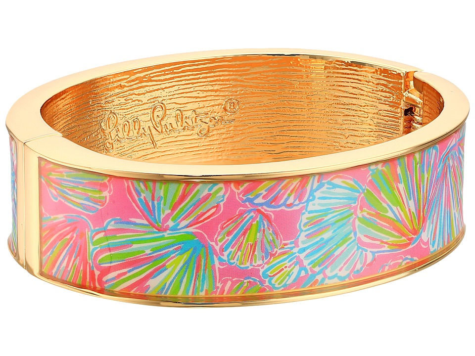 Lilly Pulitzer - Boca Bangle (Pink Pout Shellabrate) Bracelet