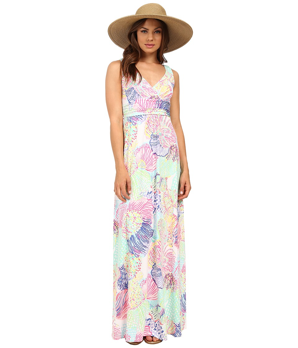Lilly Pulitzer - Sloane Maxi Dress (Multi Roar of the Sea) Women's Dress