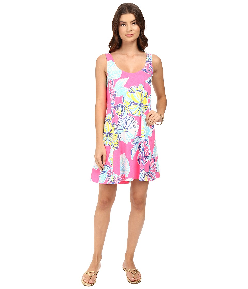 Lilly Pulitzer - Carmel Dress (Kir Royal Pink Swept by the Tides) Women's Dress