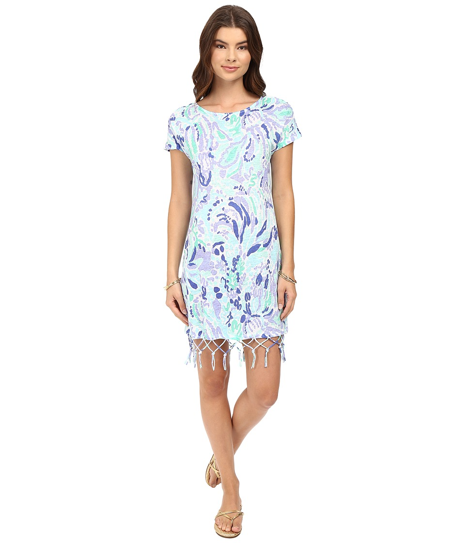 Lilly Pulitzer - Beachcomber Dress (Lillys Lilac Nice Ink) Women's Dress