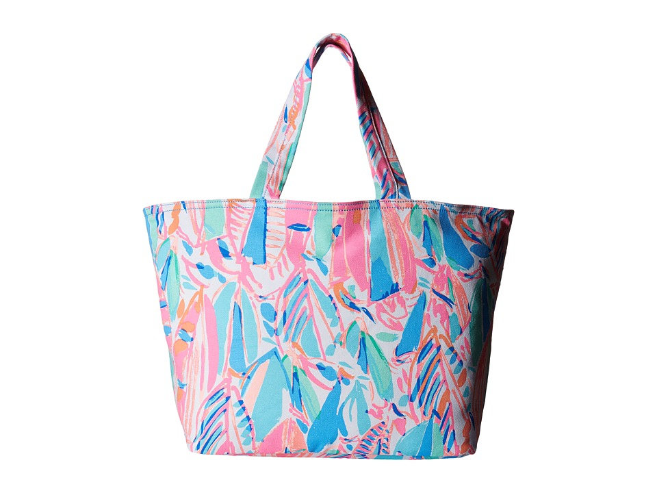 Lilly Pulitzer - Palm Beach Tote (Multi Out To Sea) Tote Handbags