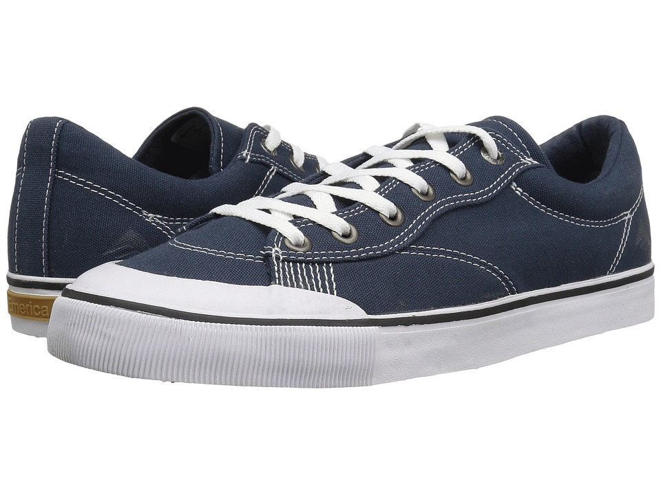 Emerica - Indicator Low (Navy/White) Men's Skate Shoes