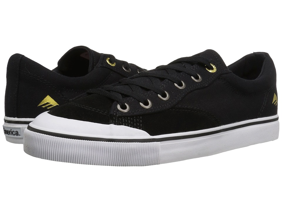 Emerica - Indicator Low (Black/White) Men's Skate Shoes
