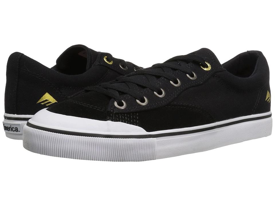 Emerica - Indicator Low (Black/White) Men's Skate Shoes