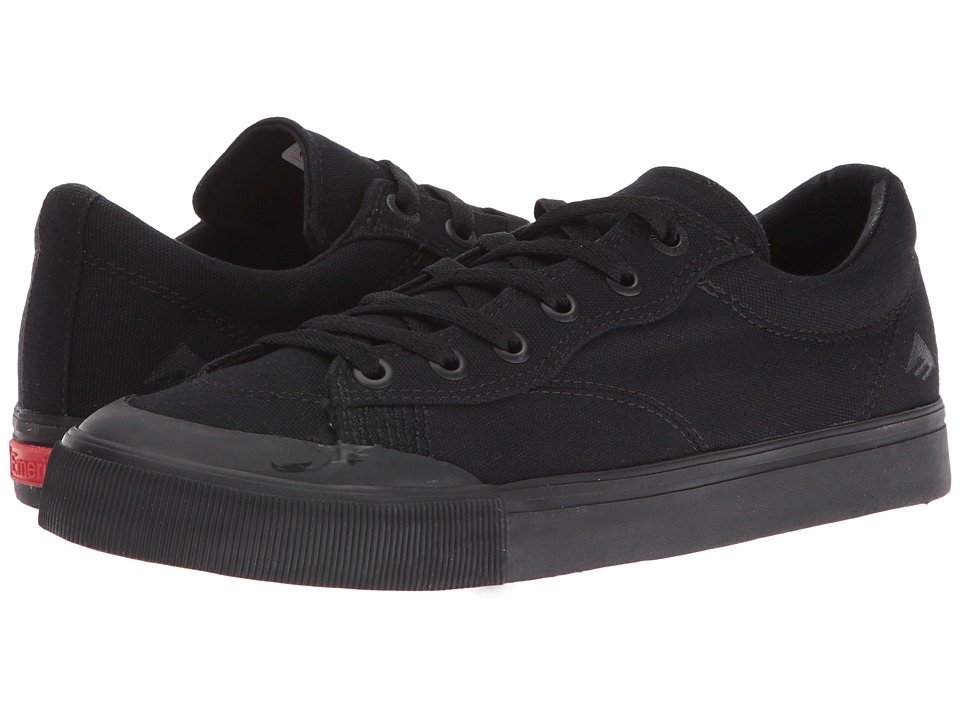 Emerica - Indicator Low (Black/Black) Men's Skate Shoes