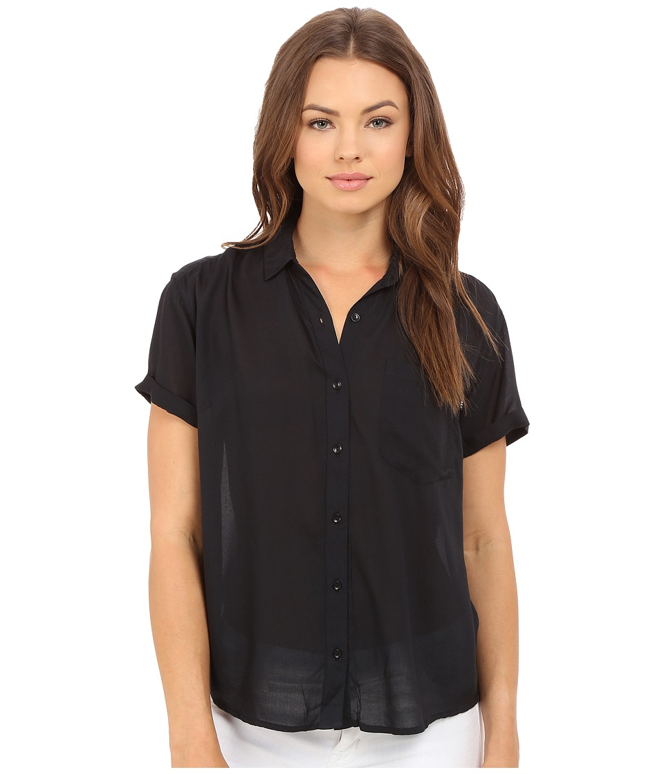 Obey - Dark Alley Shirt (Black) Women's Clothing