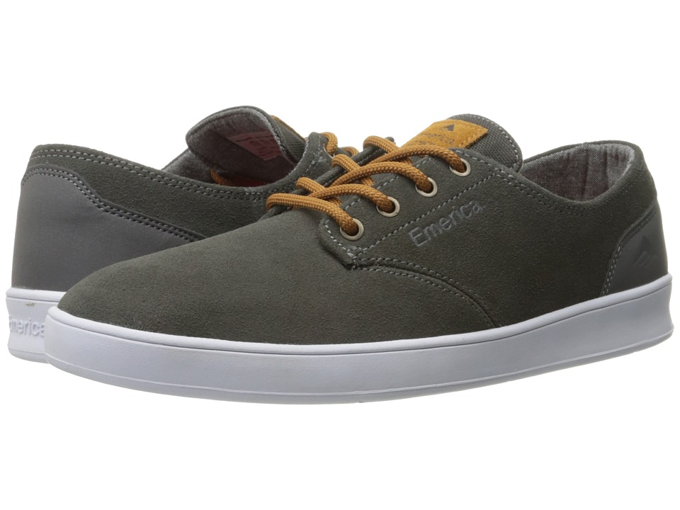 Emerica - The Romero Laced (Grey/Brown) Men's Skate Shoes