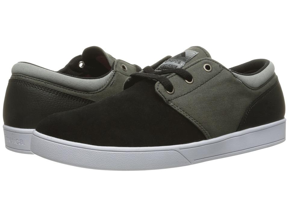 Emerica - The Figueroa (Black/Grey/White) Men's Skate Shoes