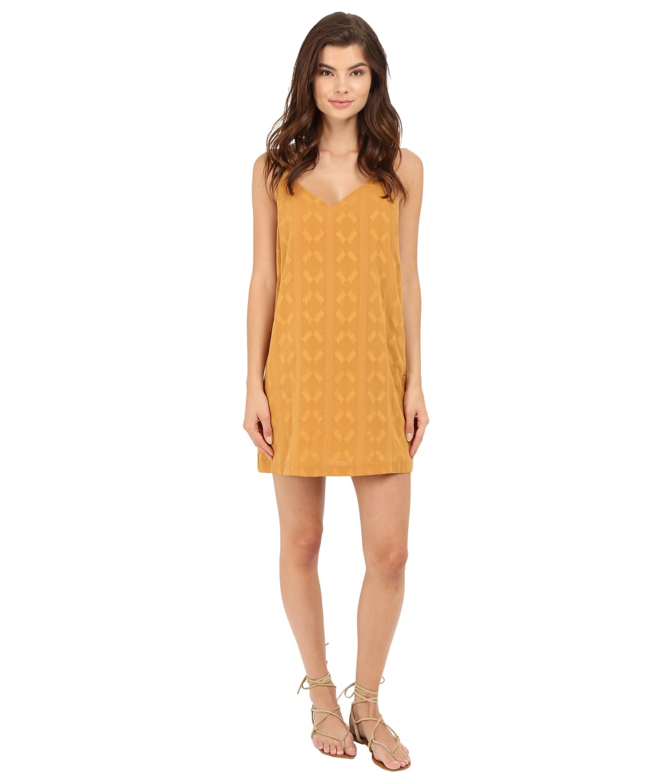 Obey - Kellyn Dress (Mustard) Women's Dress