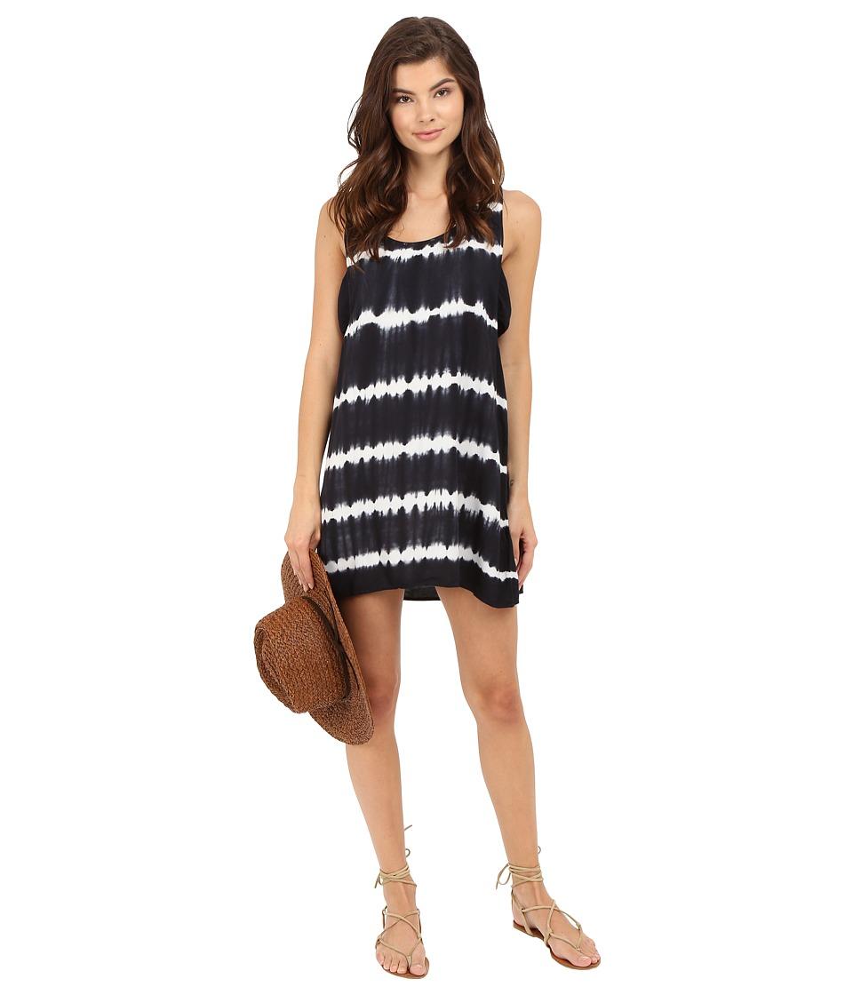 Obey - Dark Alley Dress (Black Multi) Women's Dress