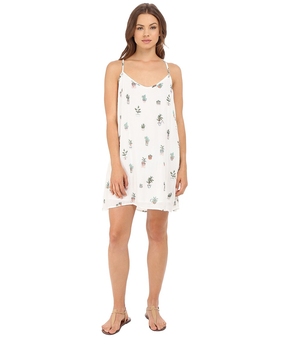 Obey - Paint Bloom Dress (White Multi) Women's Dress