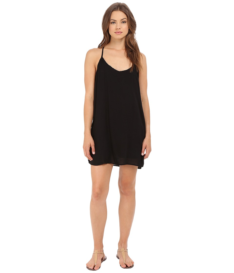 Obey - Paint Bloom Dress (Black) Women's Dress