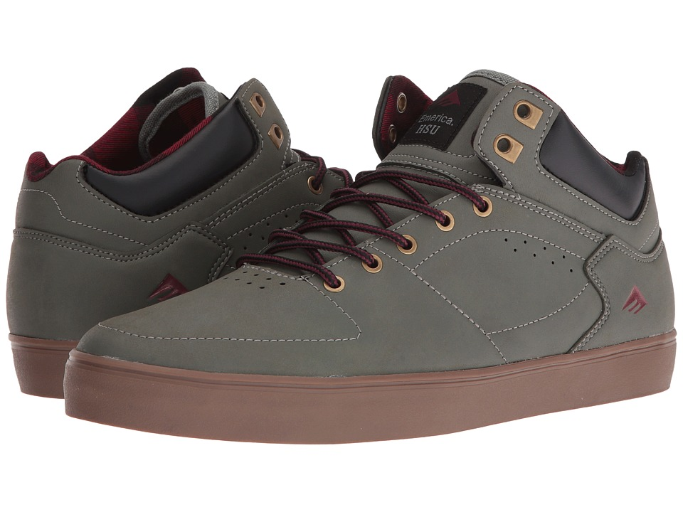 Emerica The HSU G6 (Grey/Gum/Red) Men