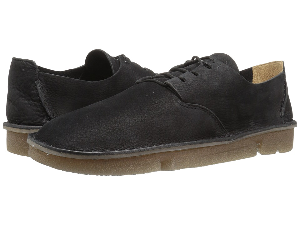 Clarks - Trigenic Veldt (Black Nubuck) Men's Shoes