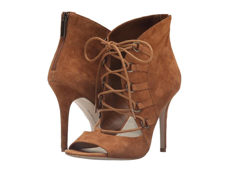 BCBGeneration - Deirdra (Camel Lux Kid Suede) Women's Shoes