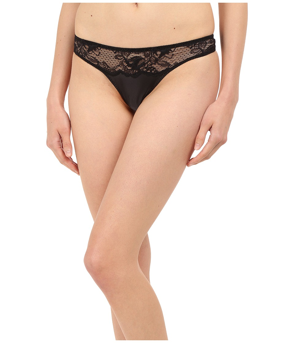Stella McCartney - Julia Stargazing Thong S37-204 (Black) Women's Underwear