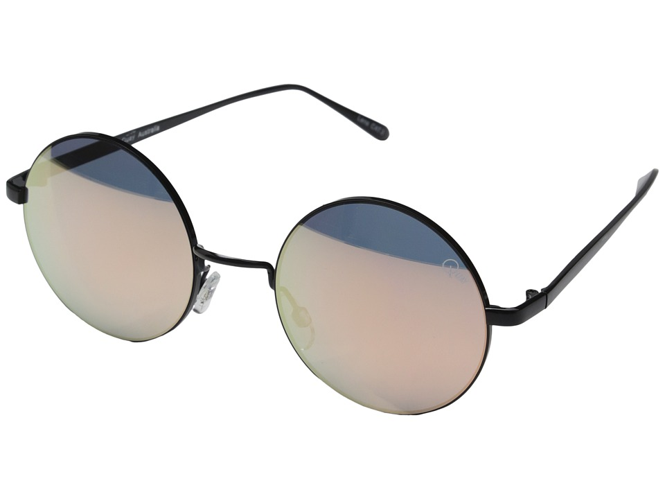 QUAY AUSTRALIA - Electric Dreams (Black/Mirror Lens) Fashion Sunglasses
