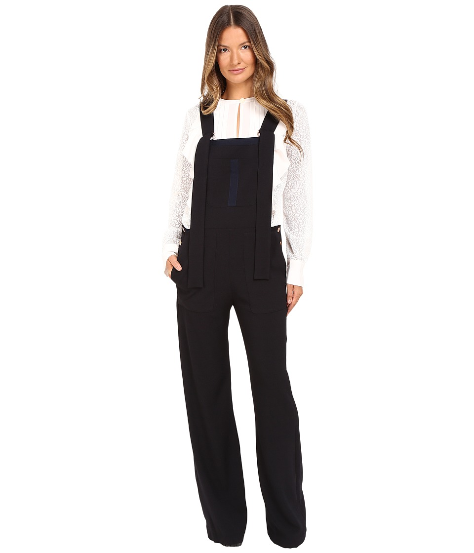 See by Chloe - S6ASL02 (Dark Night) Women's Overalls One Piece